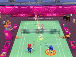 Mario Sonic at the London 2012 Olympic Games