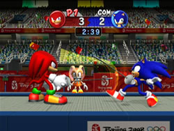 Mario Sonic at the Olympic Games