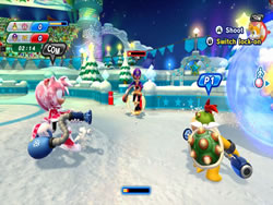Mario and Sonic at the Sochi 2014 Olympic Games