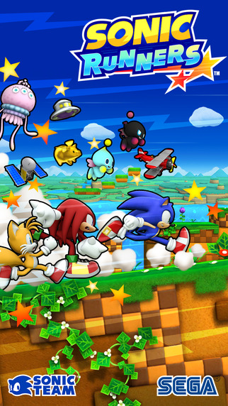 Sonic Runners front cover