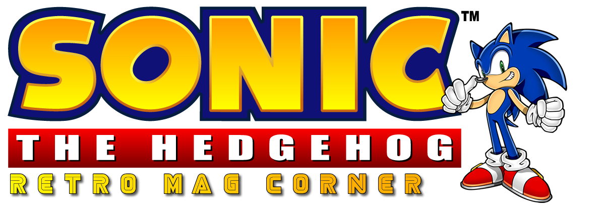 Retro Sonic the Hedgehog Magazine Scans header