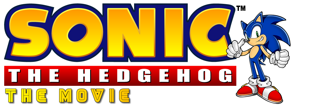 Sonic the Hedgehog the Movie VHS Cover