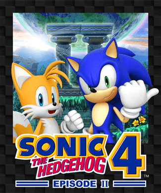 Sonic the Hedgehog 4: Episode II Front Cover