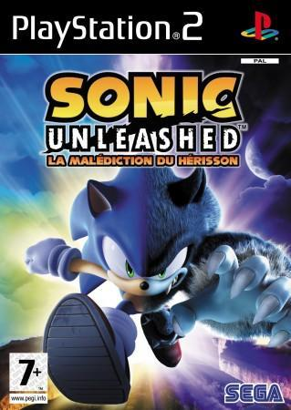 Sonic Unleashed front cover