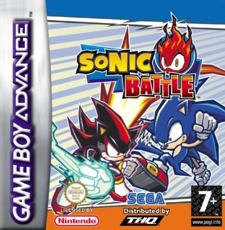Sonic Battle front cover