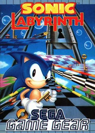 Sonic Labyrinth front cover